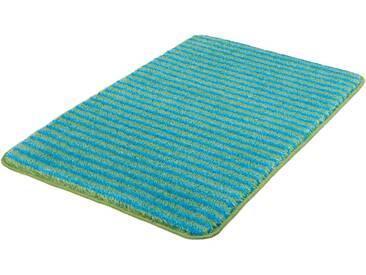 MEUSCH Badematte »Lana« , Höhe 15 mm, rutschhemmend beschichtet, fußbodenheizungsgeeignet, grün, 15 mm, kiwigrün