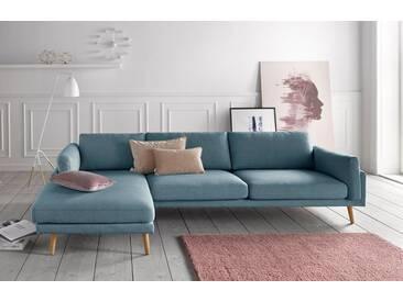 andas Polsterecke »Malvik«, Design by Anders Nørgaard, blau, Recamiere links, blau