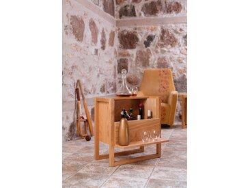 Woodman Minibar »NewEst«, Breite 60 cm, eine kompakte und vielseitige Ergänzung, natur, eichefarben