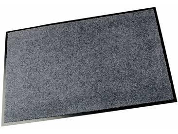 HANSE Home Fußmatte »Wash & Clean«, rechteckig, Höhe 7 mm, waschbar, grau, 7 mm, grau