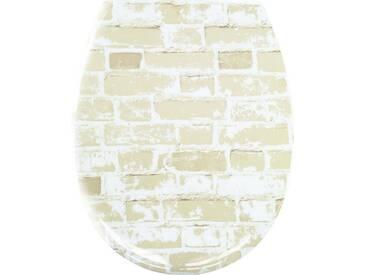 Kleine Wolke KLEINE WOLKE WC-Sitz, natur, beige