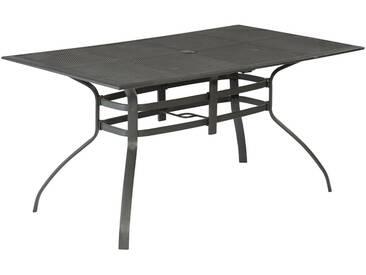 MERXX Gartentisch »Delphi«, Aluminium, 150x85 cm, grau, 150 cm x 85 cm, graphit