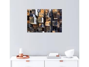 Posterlounge Wandbild - Francois Casanova »New Oak City«, bunt, Holzbild, 150 x 100 cm, bunt