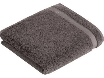 Vossen Handtücher »Scala«, mit Bordüre, braun, Wirkfrottee, sterling