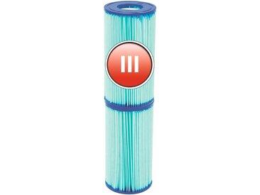 Bestway BESTWAY Ersatzfilterkartusche »Flowclear™«, Gr.III, 10,6 x 20,3 cm, blau, 10,6 cm, blau