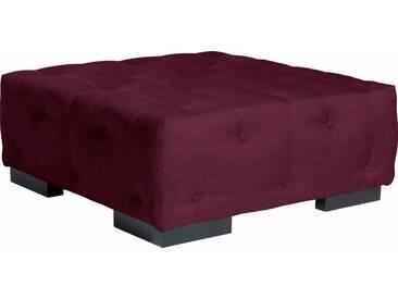 Max Winzer® Sessel »York« mit Knopfheftung, Breite 130 cm, rot, burgund