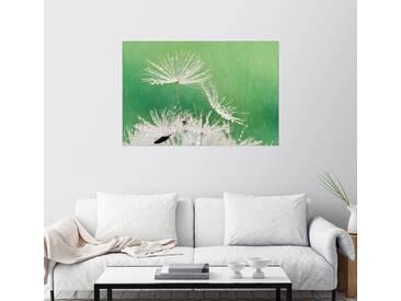 Posterlounge Wandbild »ein Regentag«, grün, Holzbild, 120 x 80 cm, grün