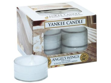 Yankee Candle Duftkerze »Angel Wings 12er Pack Teelichter«