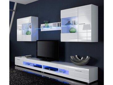 LED Unterbauleuchte, blau, blau