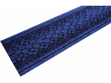 Living Line Läufer »Stone«, rechteckig, Höhe 7 mm, In- und Outdoor geeignet, Meterware, blau, blau