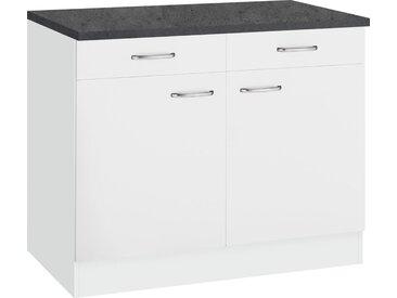OPTIFIT Unterschrank »Parare« Breite 100 cm, weiß, weiß