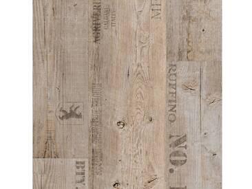Andiamo ANDIAMO Vinylboden »Florenville«, Holzoptik grau, grau, 200 cm, grau