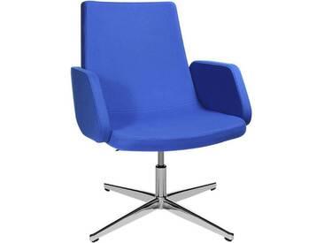 TOPSTAR Besuchersessel mit Armlehnen »Sitness Lounge 20«, blau, blau