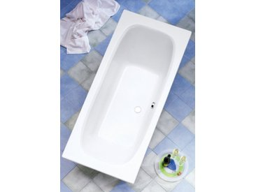 OTTOFOND Badewanne »Malta«, Breite/Tiefe in cm: 170/75 oder 180/80, mit Wannenträger, 75 cm, 170 cm, 170 cm