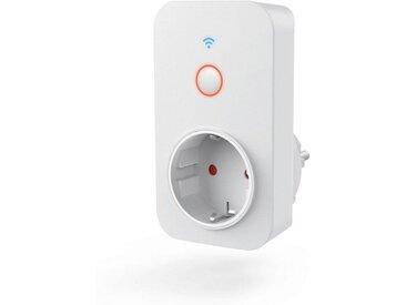Hama WLAN Steckdose, gesteuert via Alexa/Google/App, 3680W »Kein Hub/Bridge notwendig«, weiß, Weiß