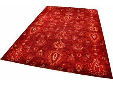 THEKO Teppich »Timeless 1«, rechteckig, Höhe 12 mm, rot, 12 mm, bordeaux