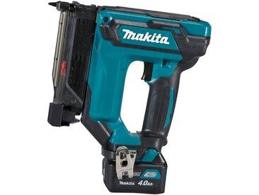 Makita MAKITA Akku-Tacker »PT354DSMJ«, 10,8 V / 4,0 Ah, inkl. 2 Akkus und Ladegerät, blau, blau