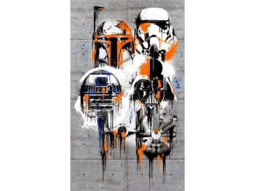 Komar Vliestapete »Star Wars Celebrate The Galaxy«, Comic
