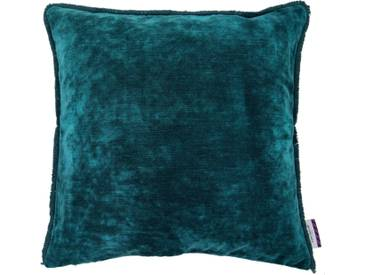 Tom Tailor Kissenhülle »VELVET SHADES«, grün, Baumwolle-Polyester, petrol