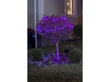 KONSTSMIDE LED Globelichterkette mit Farbwechsel, schwarz, Lichtquelle rot/blau, 40 LEDs, Schwarz