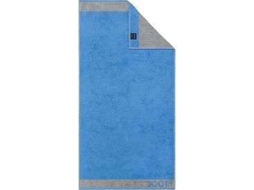 Joop! Badetuch »Diamond Doubleface«, mit komplexem Farbenspiel, blau, Walkfrottier, ocean