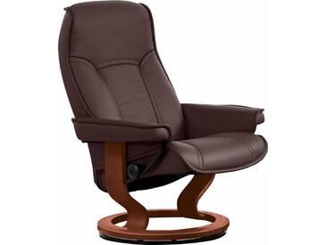 Stressless® Relaxsessel »Senator« mit Classic Base, Größe L, mit Schlaffunktion, braun, Fuß braun, brown