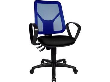 TOPSTAR Bürostuhl »Airgo Net«, schwarz, schwarz/blau
