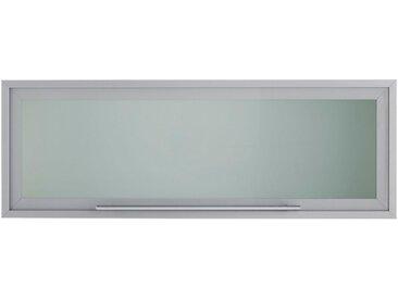 OPTIFIT Klapphängeschrank, Breite 100 cm, grau, alu/eichefarben