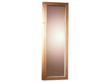 Karibu KARIBU Saunafenster für Fassauna, BxH: 25x60 cm, natur, 25 cm x 60 cm, natur