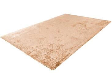 LALEE Hochflor-Teppich »Cloud 500«, rechteckig, Höhe 32 mm, Besonders weich durch Microfaser, natur, 32 mm, sand