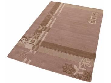 Theko Exklusiv Teppich »Gaur«, rechteckig, Höhe 13 mm, natur, 13 mm, beige