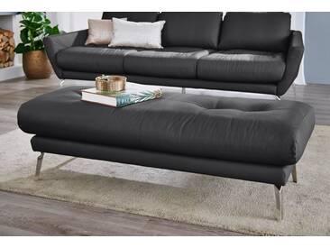 W.SCHILLIG Hocker »softy«, mit Heftung im Sitz, schwarz, schwarz Z59
