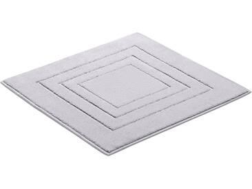 Vossen Badematte »Feeling« , Höhe 10 mm, fußbodenheizungsgeeignet, grau, 10 mm, pearl grey