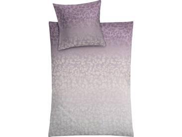 Kleine Wolke Bettwäsche »Florence«, mit Schimmereffekt, lila, 1x 155x220 cm, Mako-Satin, helllila