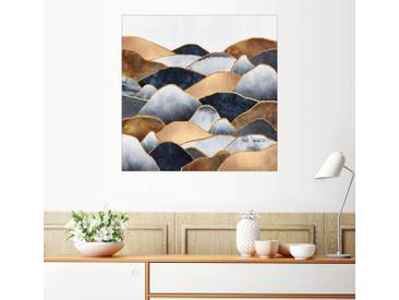 Posterlounge Wandbild - Elisabeth Fredriksson »Hills 2«, bunt, Leinwandbild, 70 x 70 cm, bunt