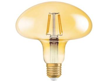Osram LED-Lampe, Vintage-Edition »Vintage 1906 MUSHROOM 40 4.5 W/2500 E27 GOLD«, goldfarben, gold