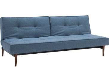 INNOVATION™ Schlafsofa »Splitback« mit dunklen Styletto Beinen, in skandinavischen Design, blau, lightblue