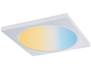 Paulmann LED Einbaustrahler »Panel Dimmbar Badleuchte Weiß eckig 9W«, 1-flammig, weiß, 1 -flg. /, weiß