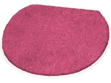 Kleine Wolke Badematte »Soft« , Höhe 20 mm, rutschhemmend beschichtet, rosa, 20 mm, geranie