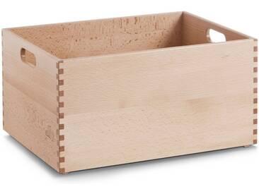 Zeller Present Holzkiste, für jeden Bedarf, natur, 40x30x21 cm, natur