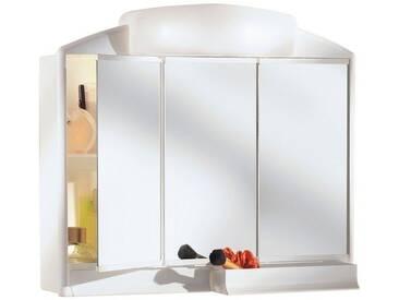 jokey JOKEY Spiegelschrank »Rano«, Breite 59 cm, weiß, weiß