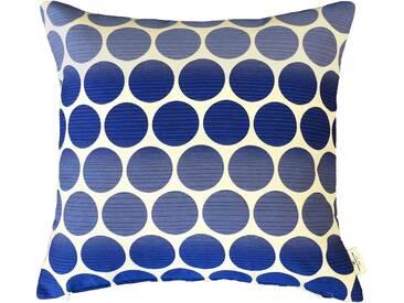 Tom Tailor Kissenhülle »Pellet 2«, blau, Polyester-Baumwolle-Kunstfaser, blau