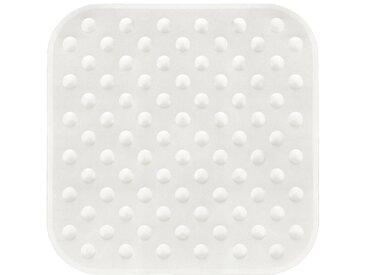 Kleine Wolke KLEINE WOLKE Duscheinlage »Formosa«, BxH: 53 x 53 cm, weiß, weiß