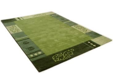 THEKO Teppich »Ambadi«, rechteckig, Höhe 14 mm, grün, 14 mm, grün