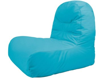 OUTBAG Sitzsack »Bridge Plus«, für den Außenbereich, BxT: 65x95 cm, blau, aquablau