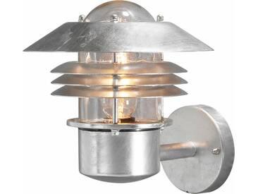 KONSTSMIDE LED Außen-Wandleuchte »MODENA«, 1-flammig, Außenleuchte für die Wandbefestigung, silberfarben, 1 -flg. /, silberfarben