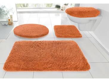 Kleine Wolke Badematte »RELAX« , Höhe 30 mm, rutschhemmend beschichtet, fußbodenheizungsgeeignet, braun, 30 mm, rost