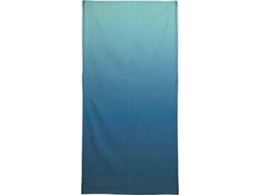 Juniqe Strandtuch »Deep Sea Dive«, Weiche Frottee-Veloursqualität, weiß, Frotteevelours, schwarz-grün-blau