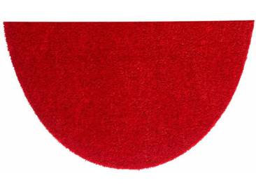 HANSE Home Fußmatte »Deko Soft«, U-förmig, Höhe 7 mm, saugfähig, waschbar, rot, 7 mm, rot