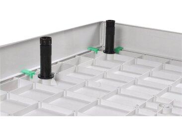 Sanotechnik Schürze »SMC«, für eckige Duschwannen, 100 x 80 cm, 80 cm, 100 cm, 100 cm